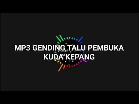 GENDING TALU PEMBUKA KUDA KEPANG