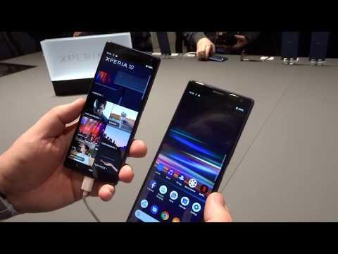Anteprima Sony Xperia 10 e 10 Plus, anche la fascia media in 21:9