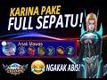 6 SEPATU BUAT KARINA # NGAKAK ABIS | Mobile Legends