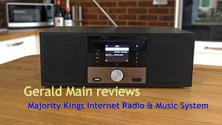 Majority Kings Internet Radio & Music System - Review