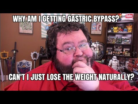 Why Should I get Gastric Bypass Surgery? Can't I Lose The Weight Naturally?