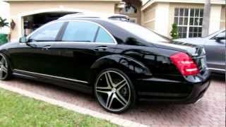 """2013 Mercedes Benz S550 on 22"""" Rims by Advanced Detailing of South Florida"""