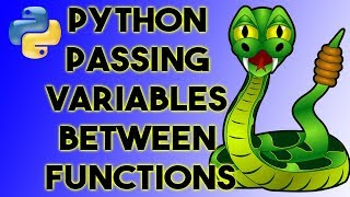 Passing variables between functions in Python