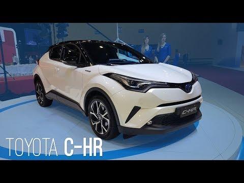 Rival do HR-V, o Toyota C-HR aparece no Salão de Buenos Aires