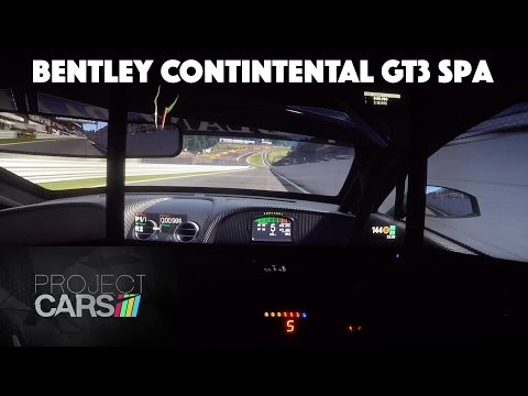 Project CARS ★ Bentley Continental GT3 ★ Spa-Francorchamps | Daniel Abt