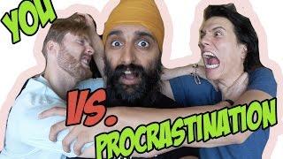NEW VIDEO How To Beat Procrastination w my budz Lazyronstudios Kyle Cristian