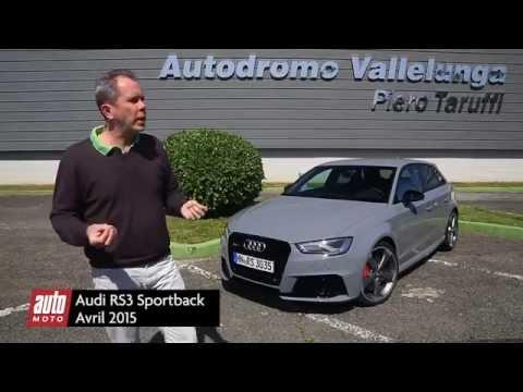 Audi RS 3 Sportback 2 (2015) : essai AutoMoto