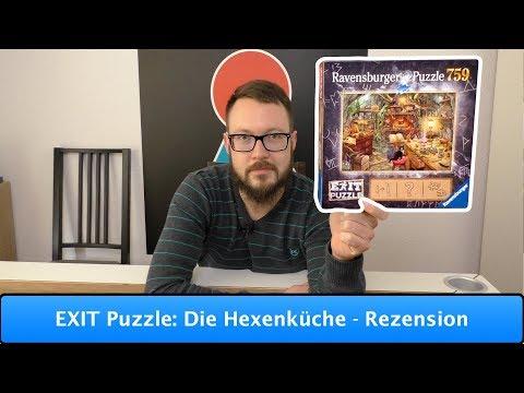 EXIT Puzzle: Die Hexenküche [Ravensburger] - Rezension