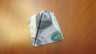How to make a Pyramid out of a One Dollar Bill