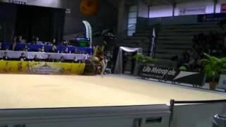 Sarah TUBIANA Corde Fédérale Sénior championnat de france Villeneuve d