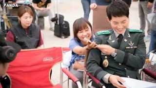 Descendants Of The Sun Behind The Scenes