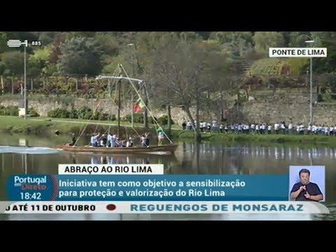 Abraço ao Rio Lima