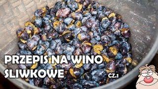 Przepis na wino śliwkowe