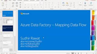 ADF, Mapping Data Flow by Sudhir Rawat