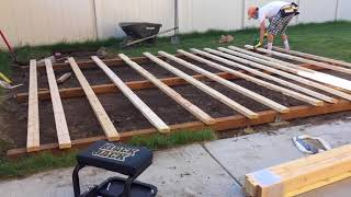 How to Build A Shed By Yourself (12 x 16)
