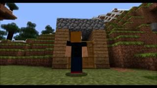The Eye Of The Creeper Lyrics - Minecraft Music Video (full HD)