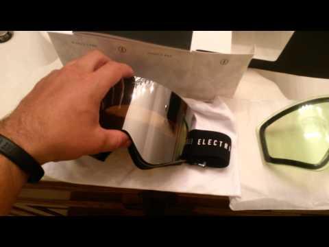 2016 Electric EGX goggles