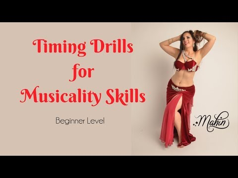 ⭐ Belly Dance Drills for Better Musicality ⭐