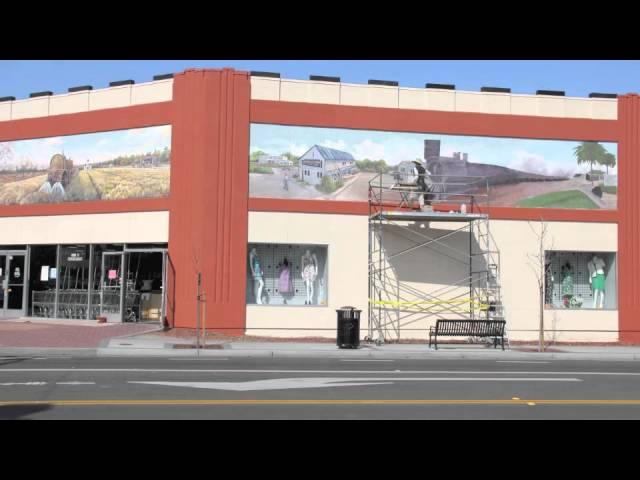 Sunnyvale Historical Mural
