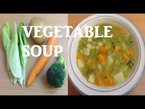 Video Quick Healthy and Easy Chunky Vegetable Soup