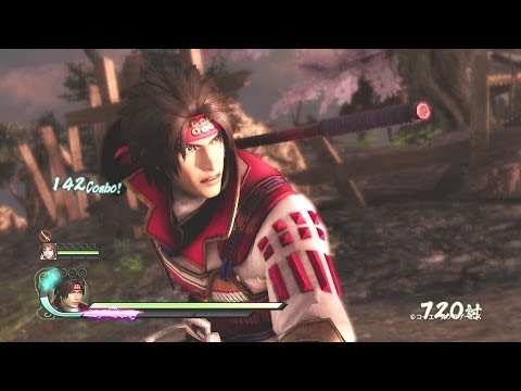 Samurai Warriors 4 – PlayStation 4 trailer