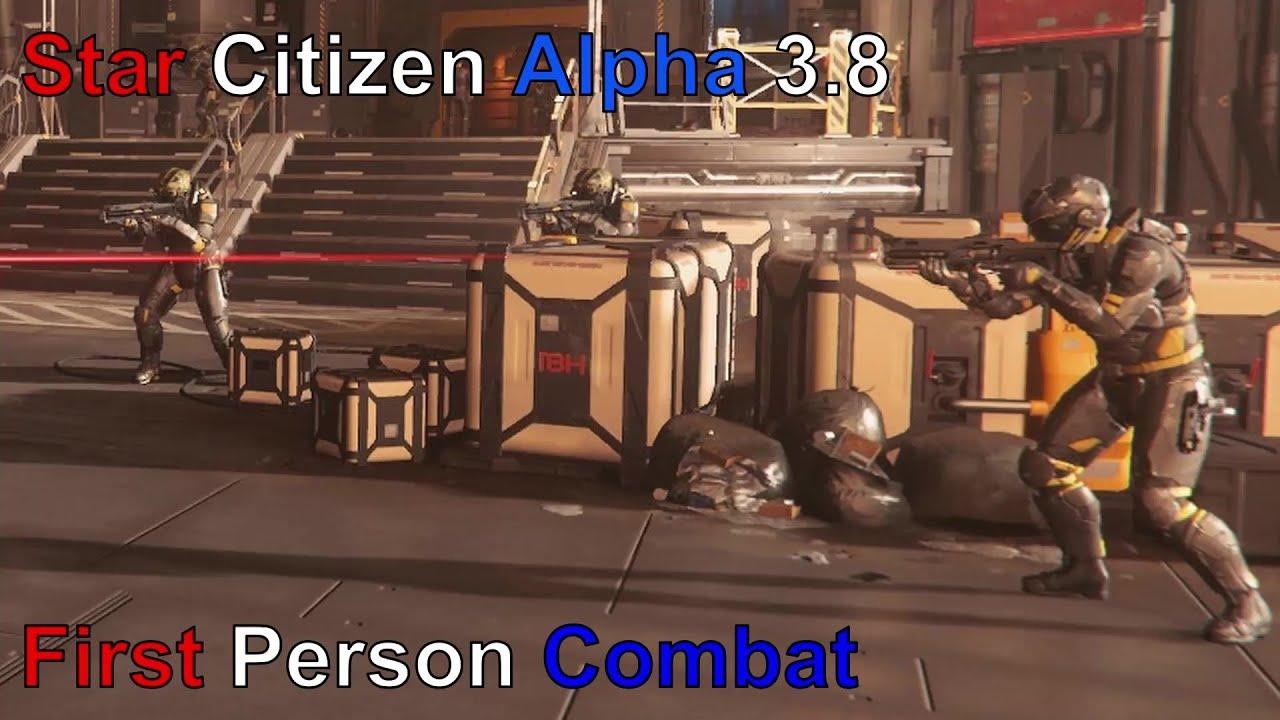 Star Citizen Alpha 3.8: FPS Combat Tutorial