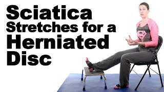 5 Best Sciatica Stretches for a Herniated Disc - Ask Doctor Jo