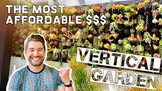 THE MOST AFFORDABLE VERTICAL GARDEN - IKEA HACK