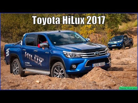 Toyota HiLux 2017 TDR Sport Review Interior Exterior