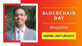 Naman Chaturvedi presenting ARK and cross blockchain communications @ Blockchain Day, Bangalore
