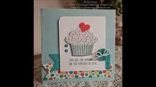 10 Quick & Easy Cards video#9 using Stampin Up Sprinkles of Life stamp set