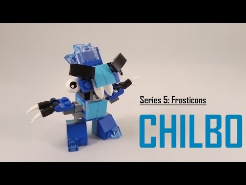 Vidéo LEGO Mixels 41540 : Chilbo