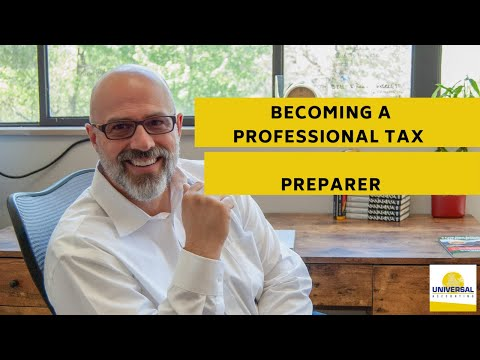 Becoming a Professional Tax Preparer