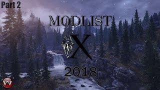 BEST SKYRIM SE Graphics 2018 ModList X  Part 2 - Tundra Region Whiterun