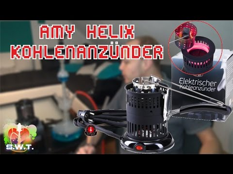 Amy Deluxe Kohleanzünder Helix Z219 - INNOVATION