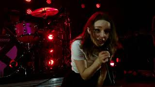 Chvrches (live)- Never Say Die at Elsewhere in Brooklyn, NY- 05/22/18