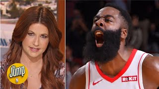 'Clutch City' was back for the Rockets in their big win vs. the Clippers - Rachel Nichols   The Jump