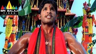 Bunny Movie Allu Arjun Powerful Action Scene | Allu Arjun, Gouri Mumjal | Sri Balaji Video