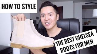 Đôi Giày Chelsea Boots Hoàn Hảo | 3 Tips Cần Lưu ý | Review Và Cách Phối đồ | Mens Street Style