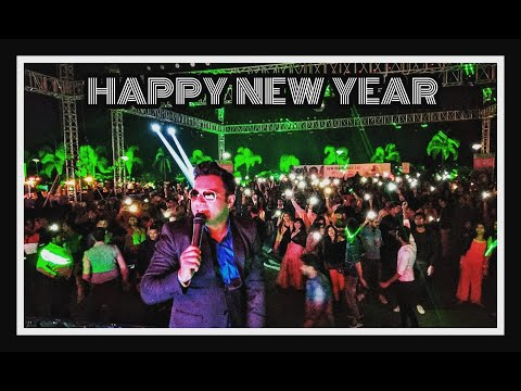 Anchor Sanjay Potdar | Hosting Funshine 2019 | New Year Party | Sunny's World Pune