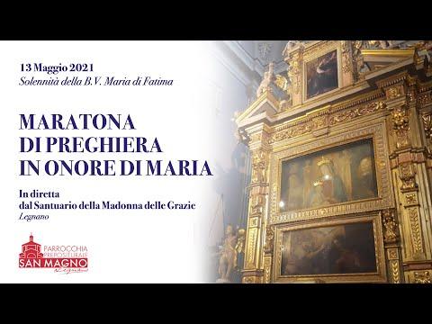 In diretta streaming dal Santuario di Legnano la maratona di preghiera in onore di Maria
