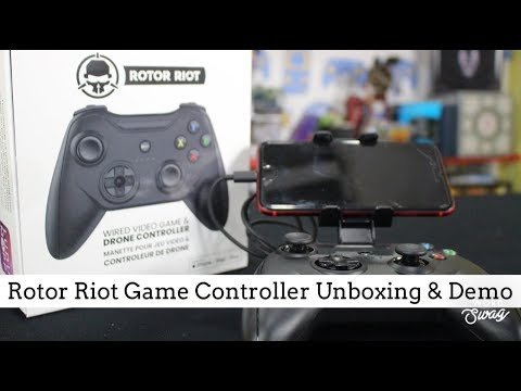Rotor Riot game controller unboxing & review (EN)
