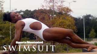 Simone Biles Shows Off Her Olympic Goddess Body In Houston | Uncovered | Sports Illustrated Swimsuit