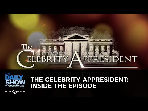 Exclusive - The Celebrity Appresident: Inside the Episode: The Daily Show