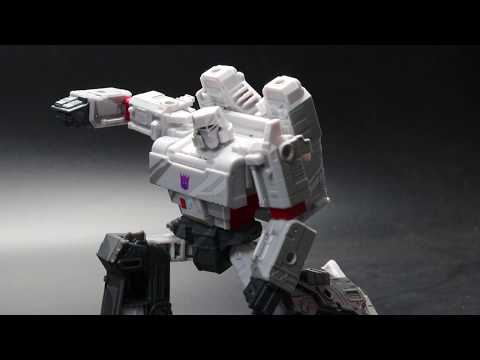 """[Unboxing] Transformers Siege 35th Anniversary """"Megatron""""(Classic Animation )"""