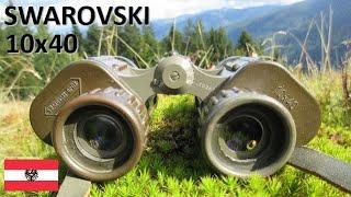 Swarovski Habicht 10x40 | Austrian Binoculars | Fernglas Österreich