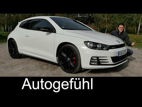 VW Volkswagen Scirocco GTS (the 'GTI') FULL REVIEW test driven 2016