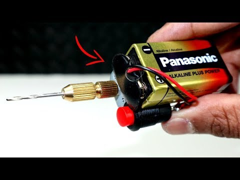 How to make a mini drill machine at home easy   diy   tool