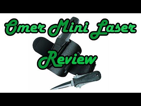 Review – Omer Mini Laser – Diver knife