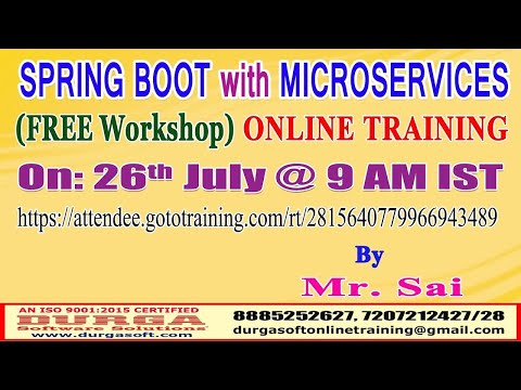 SPRING BOOT with MICROSERVICES (FREE Workshop) Online ...